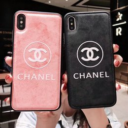 Wholesale New printed English letter C mobile phone case for iphone Xs max XR X plus plus plus TPU soft side hard back cover