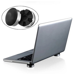 $enCountryForm.capitalKeyWord Australia - 2PCS Skidproof Feet Cooler Stand Notebook Heat Dissipation Cool Ball Portable Laptop Cooling Pad For MacBook