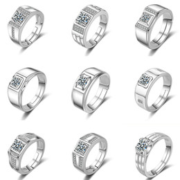 Gift Cluster Rings Australia - New Crystal CZ Diamond Rings Good Quality Cubic Zirconia Rings Engagement Ring Bridal Fashion Wedding Rings Women Party Jewelry Lovers Gift