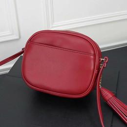$enCountryForm.capitalKeyWord NZ - New summer handbag, leather tassel bags.Zipper cell phone bags, leather key bag, 17cm multi-function mini shoulder bag Lady's camera 1900