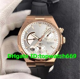 $enCountryForm.capitalKeyWord Australia - TWA Luxury Watch 47450 000R-9404 Watch Dual Time Power Reserve 18K Rosegold Case White Dial Rubber Strap 1222 Automatic Movement Men Watch
