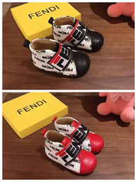 leather baby boy shoes Canada - baby kid walking shoes for little boy girl dress athletic shoes toddlers genuine leather vamp baby boy shoe brand cheap shoe send with box