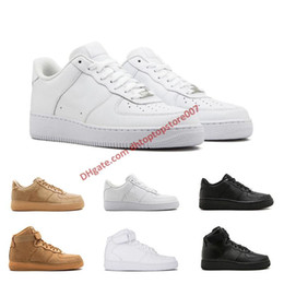 $enCountryForm.capitalKeyWord Australia - Low price Top forcing One 1 Dunk Men Women Fly-line Casual Shoes all black white wheat one women trainer sneaker 36-45 free shipping