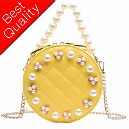 $enCountryForm.capitalKeyWord Australia - pearl Round Women Sewing thread Crossbody Bags Womens Shoulder Bag 2019 new Ladies Cute Knitting Circular Women Messenger Bags