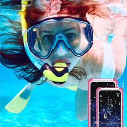 $enCountryForm.capitalKeyWord Australia - Multifunction All Protection Phone Cover Waterproof Phone Case For Samsung Iphone Colorful Plastic Waterproof Case Swim Waterproof Case