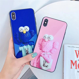 $enCountryForm.capitalKeyWord Australia - One Piece glass Phone Case Fashion for Iphone XS MAX XR 7 8 Plus 6 6s doll designer Phone Back Cover For gifts