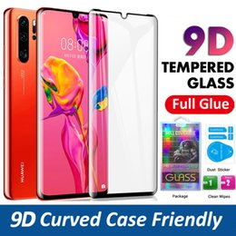 $enCountryForm.capitalKeyWord Australia - Tempered Glass For Huawei P30 Pro Mate 20 Pro Full Cover Screen Protector Film With Paper Package Stock Free Shipping