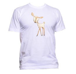 $enCountryForm.capitalKeyWord Australia - Cute Deer Painting Unisex T-Shirt Mens Womens Fashion Comedy Cool Funny Hipster Size Discout Hot New Tshirt Top Free Shipping T-shirt