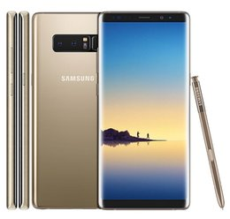 "Notes Cellphones 4g NZ - Samsung Galaxy Note8 Note 8 N950U Octa Core 6.3"" Unlocked 4G LTE Android Smart Phone 6GB RAM 64GB ROM refurbished mobile phone"