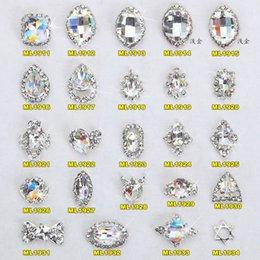 k9 crystal quality 2019 - 10pcs high quality new alloy Super flash K9 colorful diamond drop Japanese shiny crystal rhinestone DIY fashion nail dec