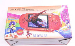 Discount pxp3 16 bit - PXP3 Handheld TV Video Game Console 16 bit Mini Game PXP Pocket Game Players with retail package free DHL