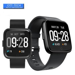 $enCountryForm.capitalKeyWord Australia - 1.3 Inch Touch Screen Smart Watch IP67 Waterproof Sport Bracelet Motion Record Blood Pressure Heart Rate Monitor Smartwatch For IOS Andriod
