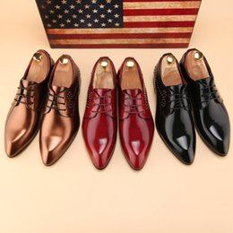 $enCountryForm.capitalKeyWord UK - The new spring Korean version of the casual shoes for young men British fashion hair stylist pointed small leather shoes