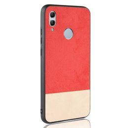$enCountryForm.capitalKeyWord Australia - For Huawei P Smart 2019 Case Back Cover Soft Leather Phone Case For Huawei P Smart 2019 POT LX1