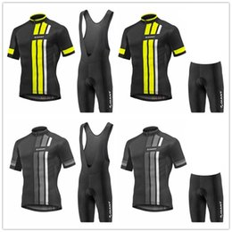 mens lycra cycling shorts Australia - GIANT 2019 PRO TEAM Bike cycling jersey (bib) shorts suit Ropa Ciclismo mens summer quick dry BICYCLING Maillot wear