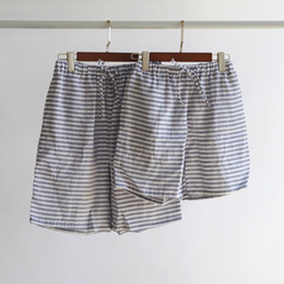 378cc734a758 Couple shorts striped pajama pants men sleeping trousers man and women s  pajama pants loose for home comfort pyjamas shorts