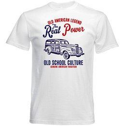Vintage Car Prints NZ - VINTAGE AMERICAN CAR PACKARD 110 DELUXE - NEW COTTON T-SHIRT Brand shirts jeans Print
