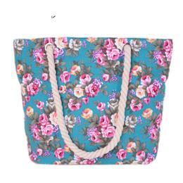 $enCountryForm.capitalKeyWord NZ - good quality Vintage Chinese Style Canvas Flower Shoulder Bag Women Bags Female Handbag Beach Bag Canvas Casual Tote Messenger Bags