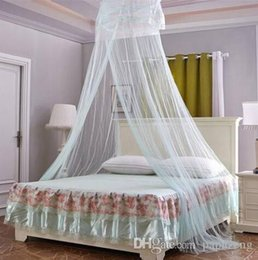 $enCountryForm.capitalKeyWord Australia - HOT Wholesales 2019 New style Free shipping Round Lace Curtain Dome Bed Canopy Netting Princess Mosquito Net For Girls