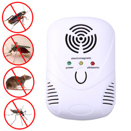 $enCountryForm.capitalKeyWord NZ - 110-250v 6w Electronic Ultrasonic Killer Mouse Cockroach Trap Mosquito Repeller Insect Rats Spiders Control Us eu Plug C19041901