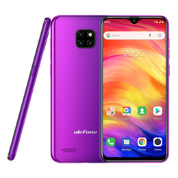 Quad core 5.7 inch phone online shopping - Ulefone Note Smartphone inch GB RAM GB ROM MT6580A Quad Core mAh Face ID Three Rear Cameras Android GO Mobile Phone