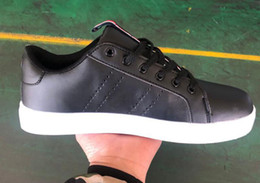 Striped Plate Australia - New colors discount price Men Women Flat tomm Sneakers plate direct selling business colors superstar shoes casual shoes couple shoes