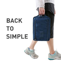 compression clothing sale NZ - New Multifunction Travel Storage Bag Nylon 6 Colors Portable Organizer Bags Shoe Sorting Pouch Hot Sale shoe storage box