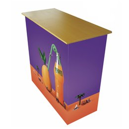 $enCountryForm.capitalKeyWord UK - Advertising Pop up Counter With Pop Up Structure HDF Table Top Tension Fabric Printing Middle Shelf Portable Carry Bag