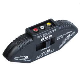 Convertitore di elettronica Convertitore di segnale selettore audio / video 3 vie Splitter per DVD XBOX360 con cavo in Offerta