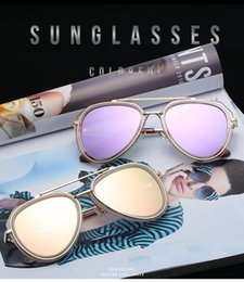 fc4a4e6bbe 2019 New Vintage Sunglasses Ladies Sunglasses Trend Round Sunglasses Drive  Glasses Manufacturers Wholesale 3737