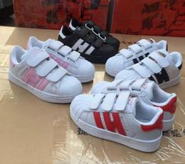 Venta caliente zapatos de skate zapatos de bebé zapatos casuales Superstar zapatillas de deporte de los niños Zapatillas Deportivas Mujer niños zapatos para correr