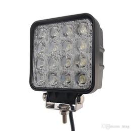 Опт 4,5 дюйма 48W LED Work Light 12V 24V Flood пятна луча автомобиля СИД по бездорожью светодиодные рабочие фары для грузовых автомобилей
