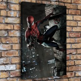 spiderman painting Australia - Venom and Spiderman,1 Pieces Home Decor HD Printed Modern Art Painting on Canvas (Unframed Framed)