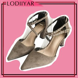 $enCountryForm.capitalKeyWord NZ - Dress Ladies Shoes Women Pumps High Heels Pointed Toe Sexy Party Dancing Shoes Black Pink Grey Suede Summer Sandals Female Footwear