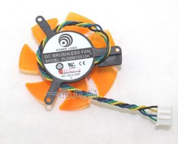 intel speed UK - PLD05010S12H 50105CM graphics card fan blade 4-line speed regulating fan