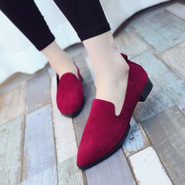 Ladies Soft Canvas Shoes Australia - A15 hot selling womens fashion shoes new style ladies flat shoes high quality canvas leather soft soles shoes with box size35-41