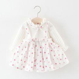 b6e48f91af3 Kawaii Princess Dress Australia - MUQGEW Toddler Kid Baby Girl White dress  Long Sleeve Printed Kawaii