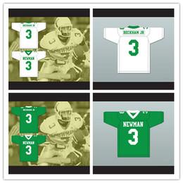 Football David Australia - Custom Men's Odell Beckham Jr. 3 Isidore Newman High School Green White Football Jersey Size XS-4XL