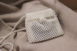 Little Hand Bags Wholesale Australia - Ladies, new fashion, cute, single shoulder, slant, Turbo, maidens, pearls, little fairy hands, little bag.