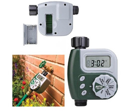 Faucet Connector Hose Australia - Garden Watering Automatic Electronic Timer Hose Faucet Timer Irrigation Set Controller System Auto Play Irrigation