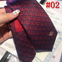 Luxury Men Tie Australia - 2019 luxury Formal Ties For Men Classic 100% silk Plaid Dots Party Necktie Fashion Slim Wedding Business Male Casual Gravata with box