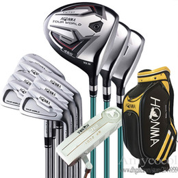 New Golf Clubs HONMA TW737P Golf Full Set TW737 wood irons Putter Clubs bag Steel shaft or Graphite shaft Golf Set Free shipping on Sale