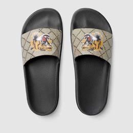 Männer Frauen Designer Sandalen Designer Schuhe Slide Sommer Mode Breiten Flach Slippery Sandalen Slipper Flip Flop im Angebot