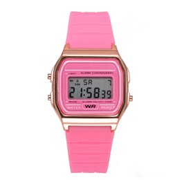 f91w watches Australia - GOSPEL WATERPROOF cross-mirror special for quick buy through explosion models WR F91W multi-function LED electronic sports watch wholesale