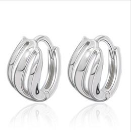 $enCountryForm.capitalKeyWord UK - Simple new thread earrings Women's jewelry Explosive models Korean fashion temperament silver ear jewelry Dangle & Chandelier