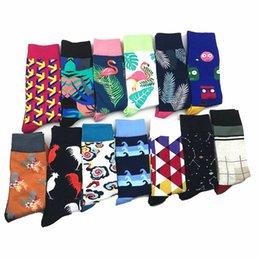 Underwear & Sleepwears Trustful 1 Pair Drop Shipping Winter Spring Happy Socks 2018 Cotton Men Crew Skateboard Socks Funny Pattern Wedding Socks Gift Without Return
