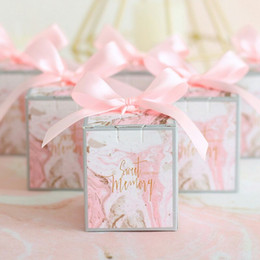 $enCountryForm.capitalKeyWord Australia - Candy Box with Ribbon Chocolate Box Gift Boxes Wedding Souvenirs Bag Kids Birthday Supplies Wedding Favors and Gifts