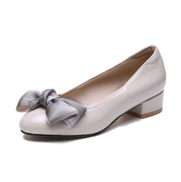 $enCountryForm.capitalKeyWord Australia - Summer new scoop shoes bow peas with casual paint shoes women's shoes shallow mouth women's Black beige wine red
