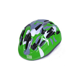 Discount fluorescent bicycle - New High Quality Mountain Bike Bicycle Cycling Sliding Plate Children Kids Helmet Note Fluorescent Colors Back to School