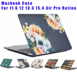 Macbook pro retina hard shell case online shopping - Hard Plastic Marble Case Cover Protective Shell for Macbook Air Pro Retina inch Water Decal Marble Pattern Cases free DHL